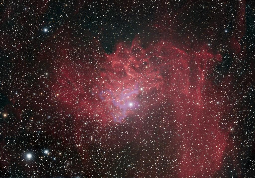 IC 405 - Flaming Star
