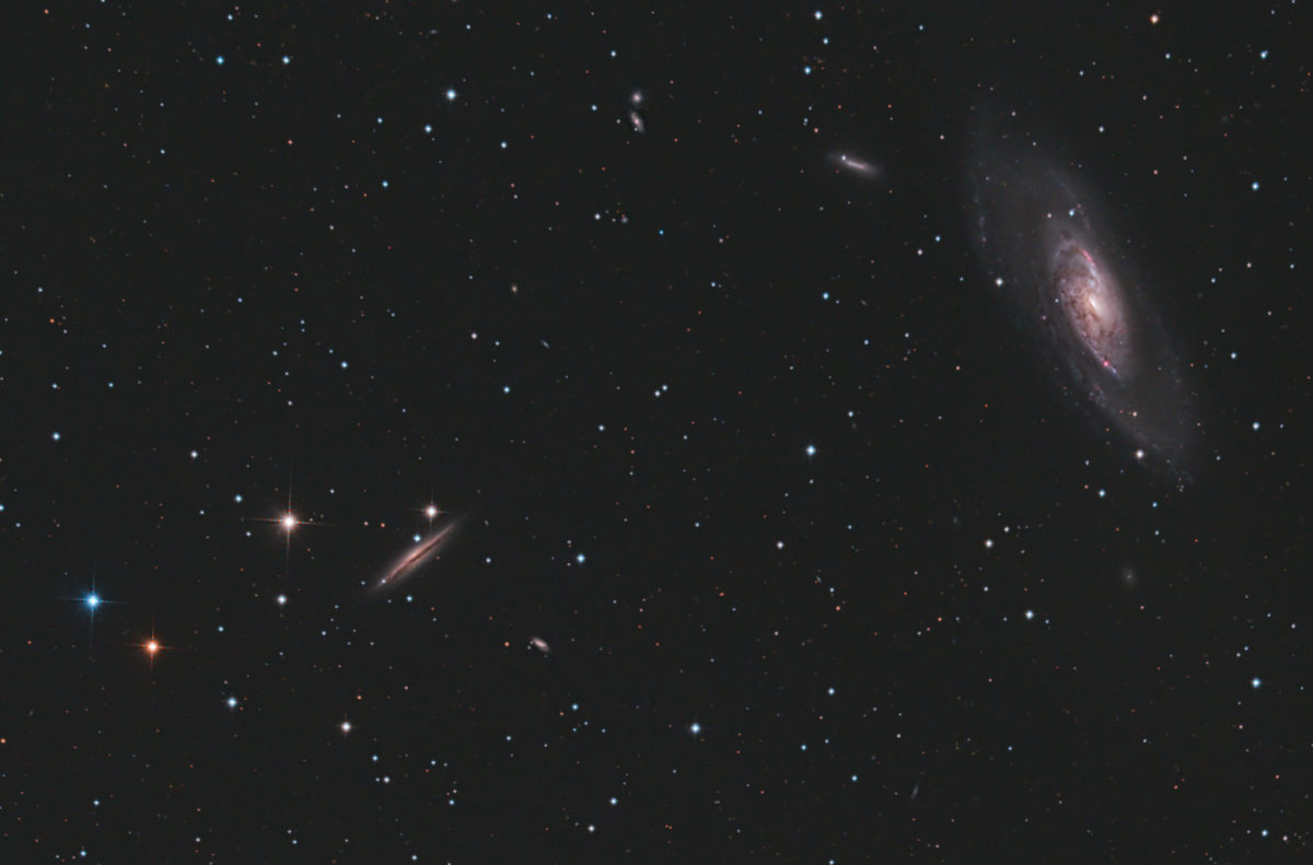 Messier 106 Heiner Weiss Photography