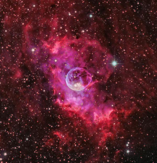 Bubble nebula Blasennebel Heiner Weiss Photography Astro Winkerling